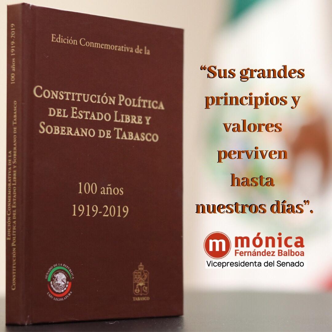 Centenario de la Constitución Política del Estado Libre y Soberano de Tabasco