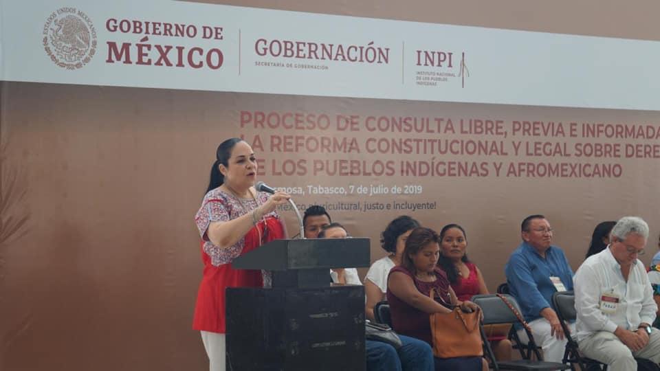 Velaremos porque se respete la voz de los pueblos indígenas y afromexicanos de Tabasco