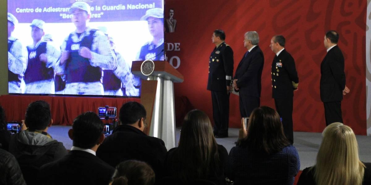 Disciplina, honestidad y lealtad en la Guardia Nacional