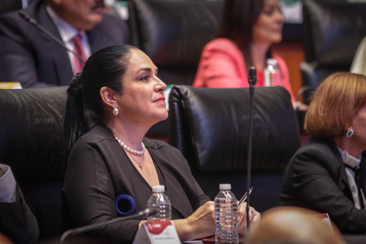 Mónica Fernández Balboa toma protesta como vicepresidenta de la Mesa Directiva del Senado